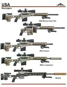 Remington MSR Sniper Series