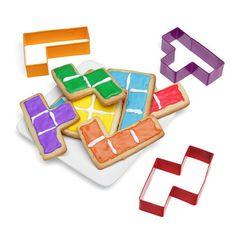 Tetris Cookies - http://www.differentdesign.it/2013/11/04/tetris-cookies/