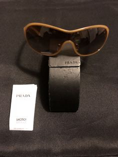 1aa424ab96 Authentic Prada sunglasses for women - Brown  eyeglases  glasses  sunglasses   fashionglases