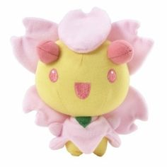Cherrim Pokemon Plush (day)