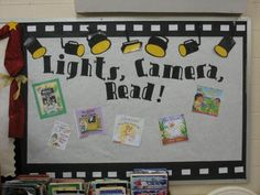 Clutter-Free Classroom: Hollywood Theme Classrooms   @Kellee Potthast -This made me think of your room!