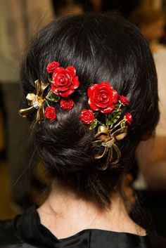 Image result for images of flamenco dancers hairdos