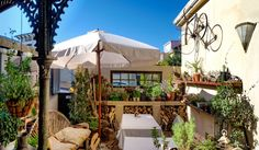 Cafe Paradiso - Kloof St, Cape Town, my favourite courtyard Office Interiors, Cape Town, South Africa, Gazebo, Garden Design, Outdoor Structures, Patio, Street, Gardens