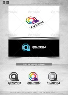 Quantum  Letter Q  Logo Template — Vector EPS #connection #express • Available here → https://graphicriver.net/item/quantum-letter-q-logo-template/8078659?ref=pxcr