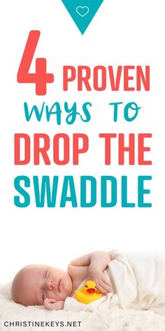 4 Proven Ways to Drop the Swaddle. Learn how to wean your baby from the swaddle with these great swaddle transition techniques. Baby Care Tips, Baby Tips, Baby Hacks, Swaddle Transition, Baby Sleep Consultant, Toddler Sleep, Toddler Food, Kids And Parenting, Parenting Advice