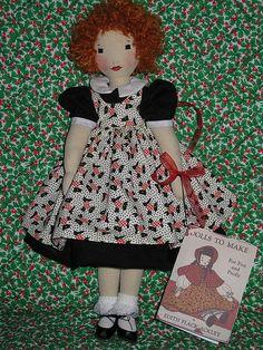 RED HAIRED LITTLE GIRL DOLL by grannyinak, via Flickr