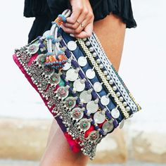Parisienne Chic, Ethnic Bag, Boho Bags, Fabric Bags, Summer Bags, Handmade Bags, Beautiful Bags, Purses And Handbags, Clutch Bag