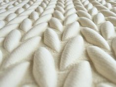 Acoustic Fabric 3D TEXTILES by Casalis | Design Aleksandra Gaca (2012)