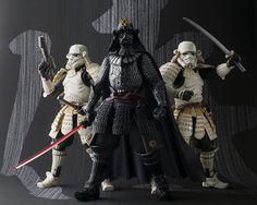 Samurai Star Wars action figures hit stores in Japan