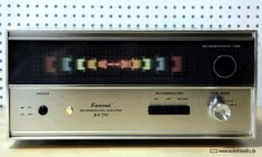 Sansui Reverberation Amplifier RA-700. Click on to see light show.