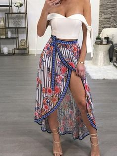 2644897b11 8 Best maxi slit skirt images in 2016   Ready to Wear, Woman fashion ...