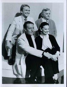 Bob Mackie, Geoffrey Beene, Halston and Gloria Vanderbilt on THE LOVE BOAT