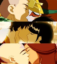 Team Avatar smmmmooooccchhheeeesss There needs to be a picture of Toph at the bottom glaring...