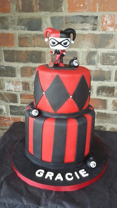 Harley Quinn Cake by Max Amor Cake.