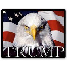 Trump for President 2016 Eagle Vinyl Sticker - Car Window Bumper Laptop - SEL...