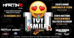 Evento solidario 1 toy 1 smile