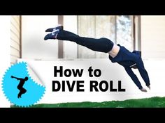 How to Dive Roll - Parkour Tutorial @Camp Woodward - Tapp Brothers - YouTube