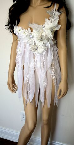 Hey, I found this really awesome Etsy listing at https://www.etsy.com/listing/209714367/white-butterfly-baby-doll-fairy-padded