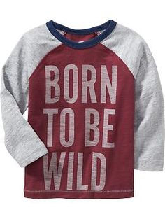 Color-Block Text-Graphic Tees for Baby   Old Navy