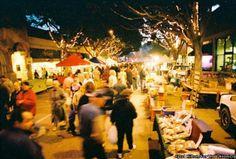 san luis obispo farmers market | the grill permeates the night air at San Luis Obispo's farmers' market ...