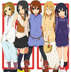 K-on! #anime #manga