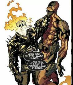 Ghost Rider vs. Deadpool Penance Stare