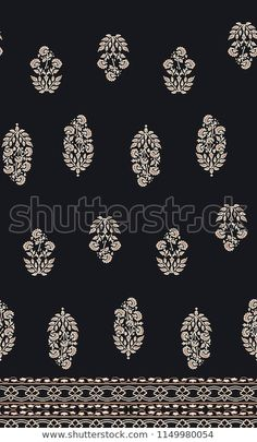 Shutterstock 컬렉션에서 HD 화질의 Botanical Floral Pattern Background Repeat Pattern 스톡 이미지와 수백만 개의 사용료 없는 다른 스톡 사진, 일러스트, 벡터를 찾아보세요. 매일 수천 개의 고품질 사진이 새로 추가됩니다. Ikat Pattern, Paisley Pattern, Ethnic Print, Lace Border, Repeating Patterns, Kurtis, Background Patterns, Embroidery Designs, Bohemian
