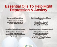 Feeling down, moody, drowned with dark thoughts or in pain? These 11 essential oils for depression are AMAZING mood lifters!