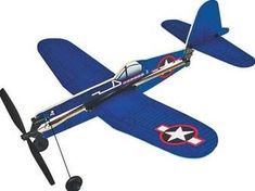 F4U Corsair Rubber Band Powered Plane for only $5.44 You save: $1.42 (21%)