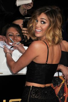 cute hair Miley