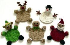 Decorazioni natalizie uncinetto: 5 schemi semplici per te