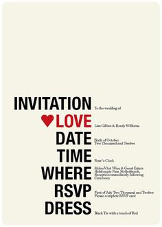 "Brilliant Invitation Design {but I never knew twelve was spelled ""twelwe""} Sure hope this wasn't mailed out."