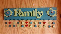 Sweet T's Custom Creations .... Family Birthday Sign