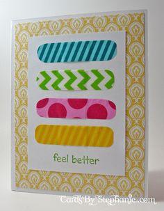blog-Washi Tape Band-Aid Card