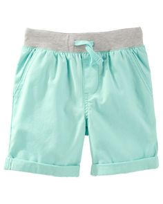 Toddler Boy Canvas Pull-On Shorts from OshKosh B'gosh. Shop clothing & accessories from a trusted name in kids, toddlers, and baby clothes.