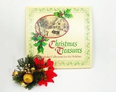 ➤ Vintage 1976 family Christmas Book: Christmas Treasures - A Keepsake Collection for the Holidays by Hallmark ➤ An all-in-one book with many Christmas stories, poems, recipes, songs, plus several blank pages for a family to write in each years memories ➤ The perfect book for reading familiar Christmas stories and poems to the children, including: The Night before Christmas, The Inn Keeper, The Jugglers Christmas Gift, Christmas Carol, Christmas Hash poem by Ogden Nash and more ➤ And…