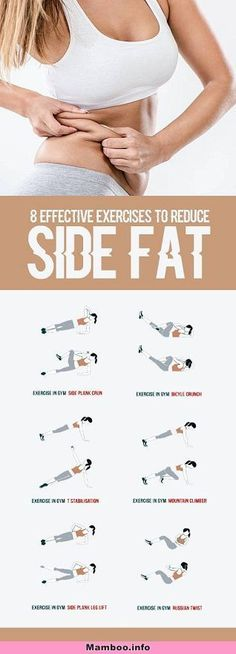 8 Effective Exercises To Reduce Side Fat of Waist - All Just You ., 8 Effective Exercises To Reduce Side Fat of Waist - Weltraum Just You . 8 Effective Exercises To Reduce Side Fat of Waist - Weltraum . Fitness Workouts, Yoga Fitness, At Home Workouts, Fitness Motivation, Health Fitness, Ab Workouts, Sport Motivation, Core Exercises, Abdominal Exercises