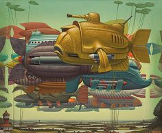 surreal-paintings-jacek-yerka-6 #GeorgeTupak