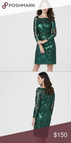 Green Sequin Dress Steal the spotlight in this gorgeous dress. Brand new. Decode 1.8 Dresses
