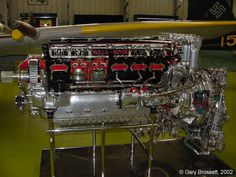 Rolls Royce Merlin Engine Now that's an Engine.