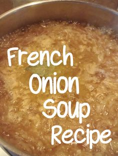 How to make delicious french Onion Soup. http://www.squidoo.com/how-to-make-french-onion-soup