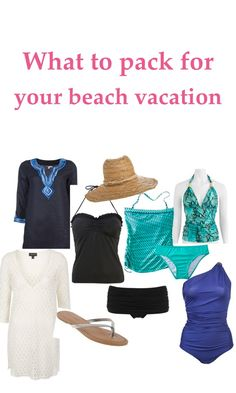 What To Pack Beach Vacation: great list and resource to make packing easy. Pin now, use later!