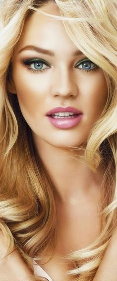 Candice Swanepoel - Beautiful Women with Amazing Long Hair. Turning Back The Clock On Wrinkles