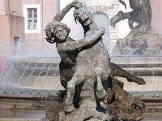 Bernini Fountain, Piazza Navona, Rome