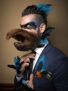 The National Beard and Mustache Competition never disappoints.