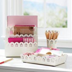 Girly office supplies on pinterest desk accessories pencil cup and office supplies - Girly office desk accessories ...