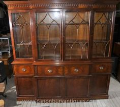 Victorian-Breakfront-Bookcase-with-Secretaire-Desk-Mahogany-Bookcases-300x270.jpg (300×270)