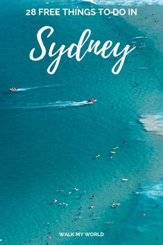 Sydney's known as an expensive city, and whilst in many ways it's true, there are also so many incredible things you can do in the city for free. We've put together a bumper list of 28 incredible free things to do in Sydney. Brisbane, Melbourne, Travel Advice, Travel Guides, Travel Tips, Travel Goals, Budget Travel, Free Travel, Australia Travel Guide