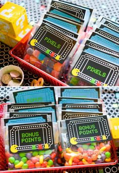 Arcade Party bonus points #arcade #partyideas