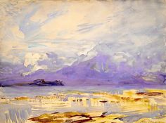 Sirmione, Lake Garda by John Singer Sargent (American 1856 – 1925) This is SOo subtly beautiful